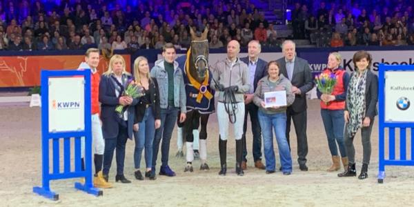 Glock's Johnson TN awarded KWPN Horse of the year