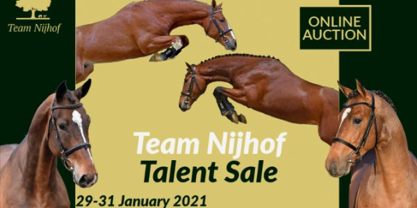 TEAM NIJHOF TALENT SALE JANUARI 2021